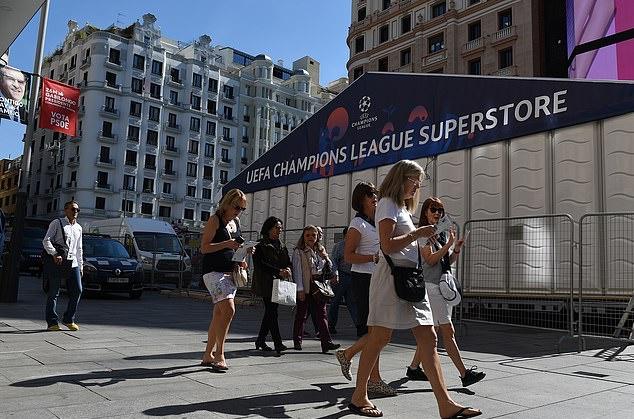 Madrid sẵn sàng chào đón cuộc đổ bộ của người Anh - Bóng Đá
