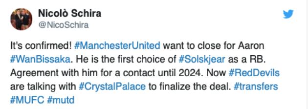 Xong xuôi! Man Utd đạt thỏa thuận 5 năm, đón 'quái thú' ở hàng thủ Aaron Wan-Bissaka - Bóng Đá