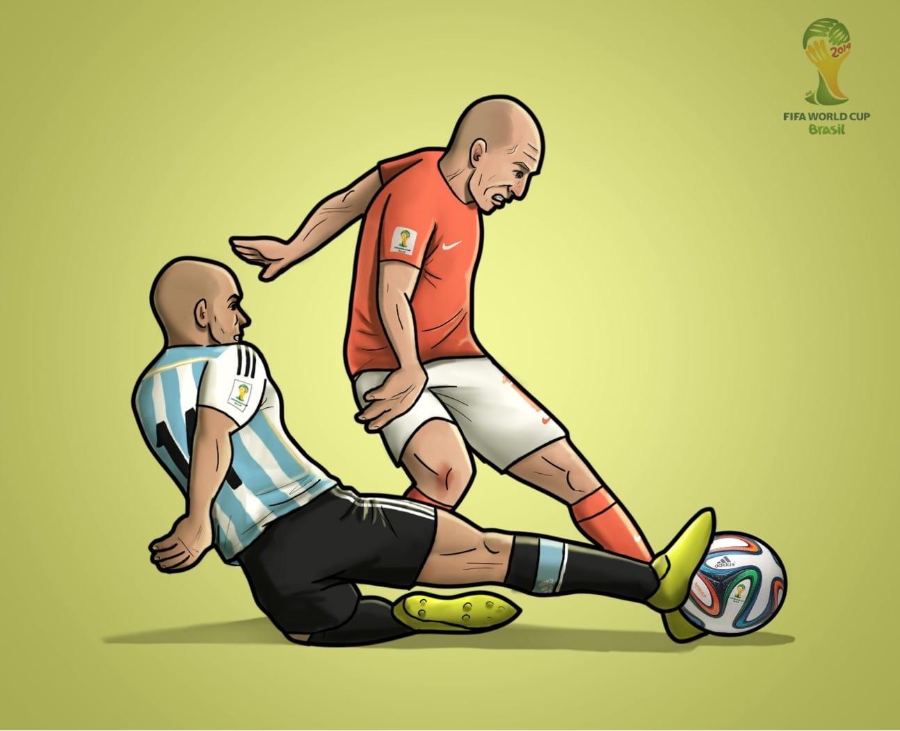 Biếm họa: Mourinho & Wenger 'yêu lại từ đầu'; Xạ tiễn Ronaldo - Bóng Đá