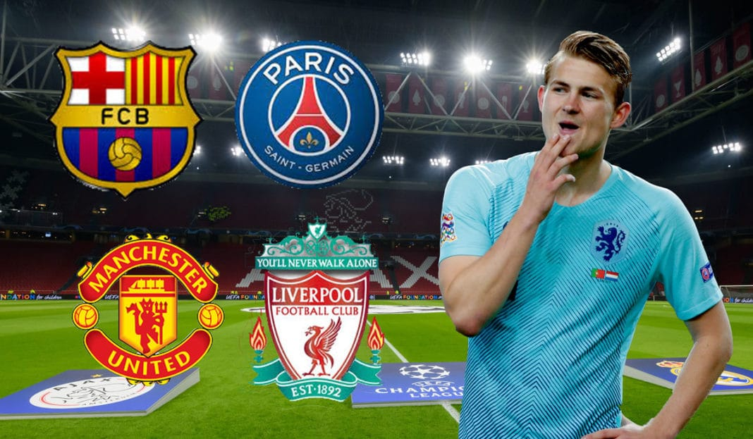 Matthijs de Ligt names the two stars he most wants to play with at Barcelona - Bóng Đá