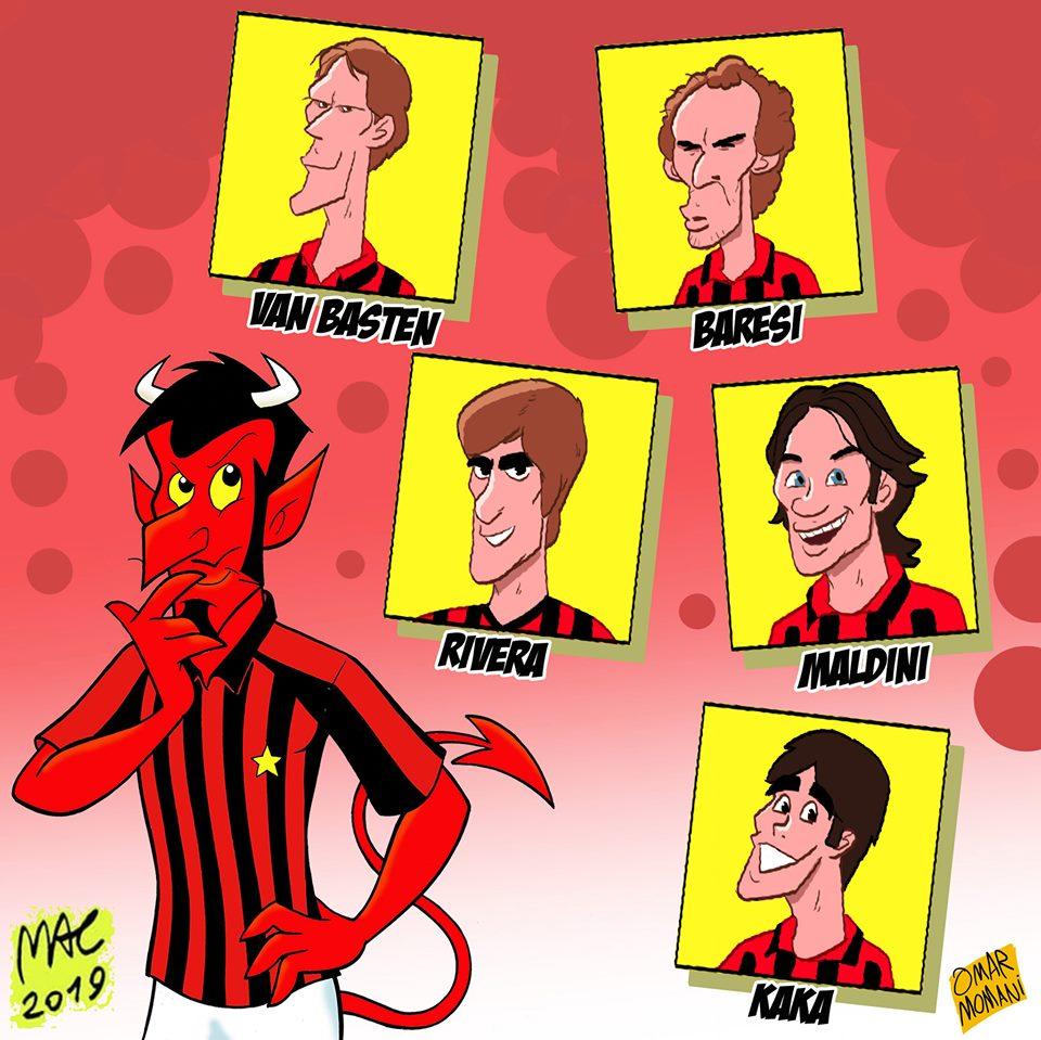 Biếm họa: 'Bóng ma' ám ảnh Messi; Lukaku  - Bóng Đá