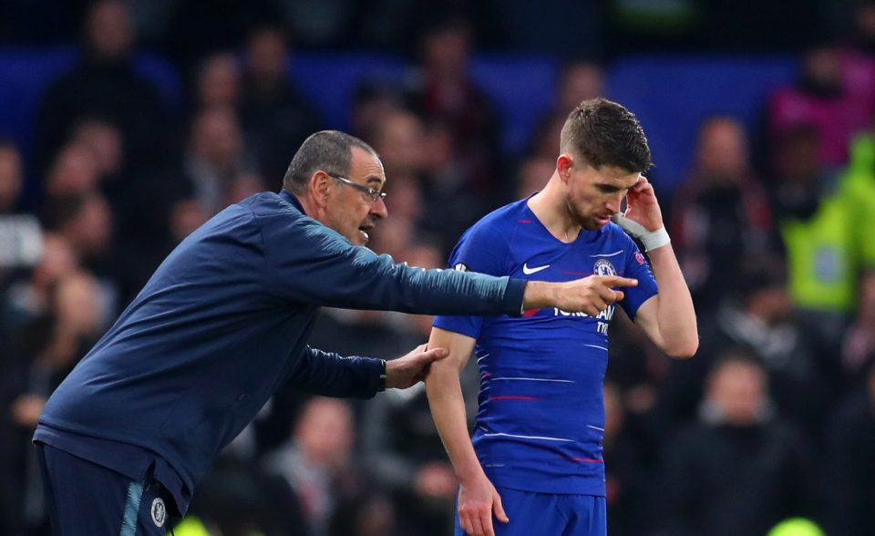 Maurizio Sarri wants Juventus to sign Jorginho and Emerson Palmieri - Bóng Đá