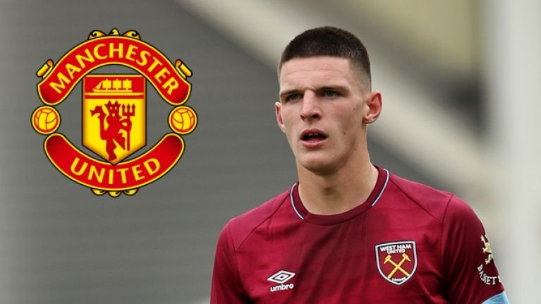 West Ham 'tell Manchester United and City that Declan Rice is NOT for sale this summer' after both clubs made enquiries for England midfielder - Bóng Đá