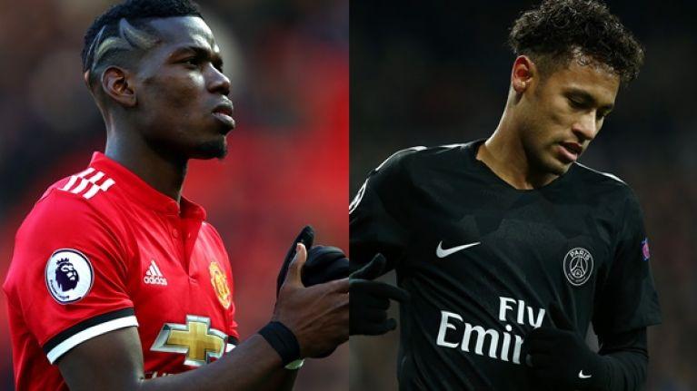 Manchester United reject swap deal involving Neymar and Pogba - Bóng Đá