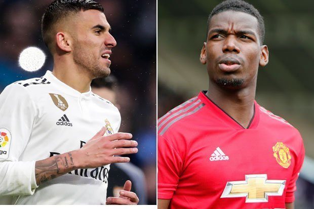 Real Madrid offered Man Utd £90m plus Tottenham target for Paul Pogba - Bóng Đá