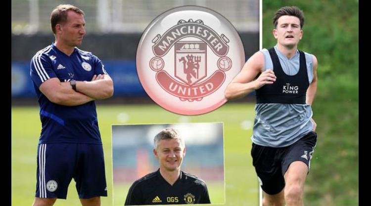 Harry Maguire 'angry' with Leicester City for blocking Manchester United and Man City - Bóng Đá