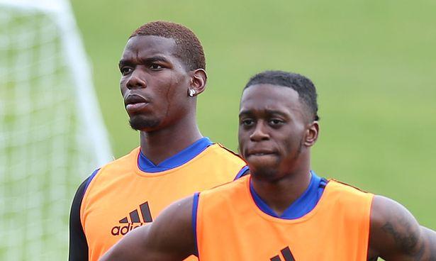 What Paul Pogba said to Aaron Wan-Bissaka ahead of Man Utd's win over Perth Glory - Bóng Đá