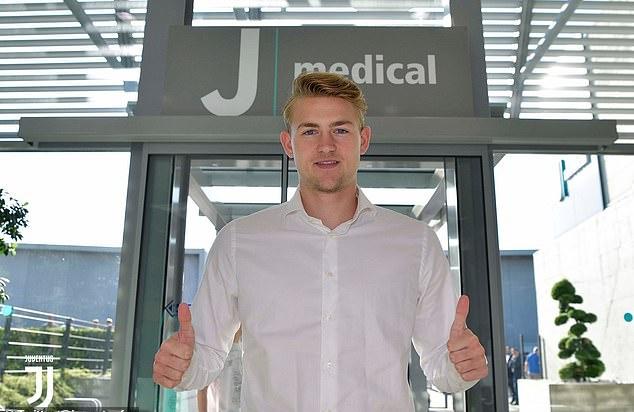 Ảnh De Ligt tới Juve kiểm tra y tế - Bóng Đá