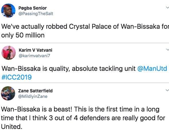 Man Utd fans in meltdown over Aaron Wan-Bissaka display - 'We've robbed Crystal Palace' - Bóng Đá