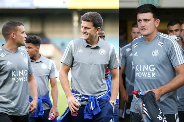 What Man Utd target Harry Maguire has told Leicester team-mates about transfer - Bóng Đá