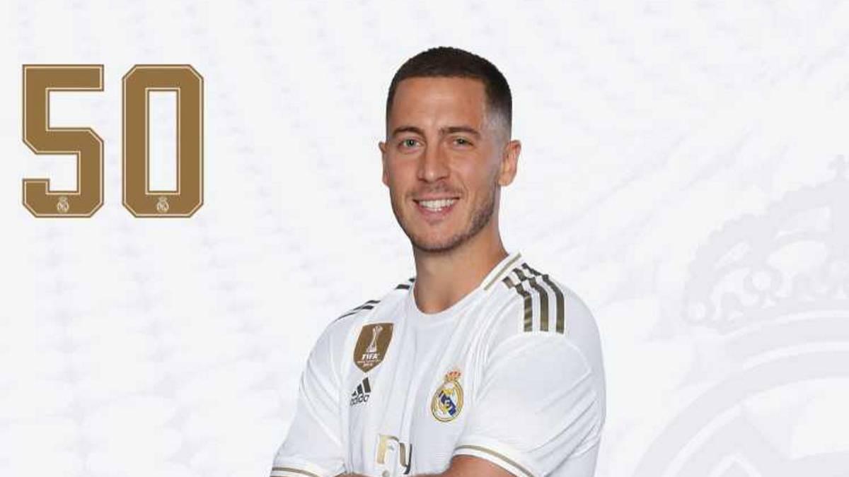 Bạn biết lý do Eden Hazard khoác số áo cực lạ ra mắt Real Madrid chưa? - Bóng Đá