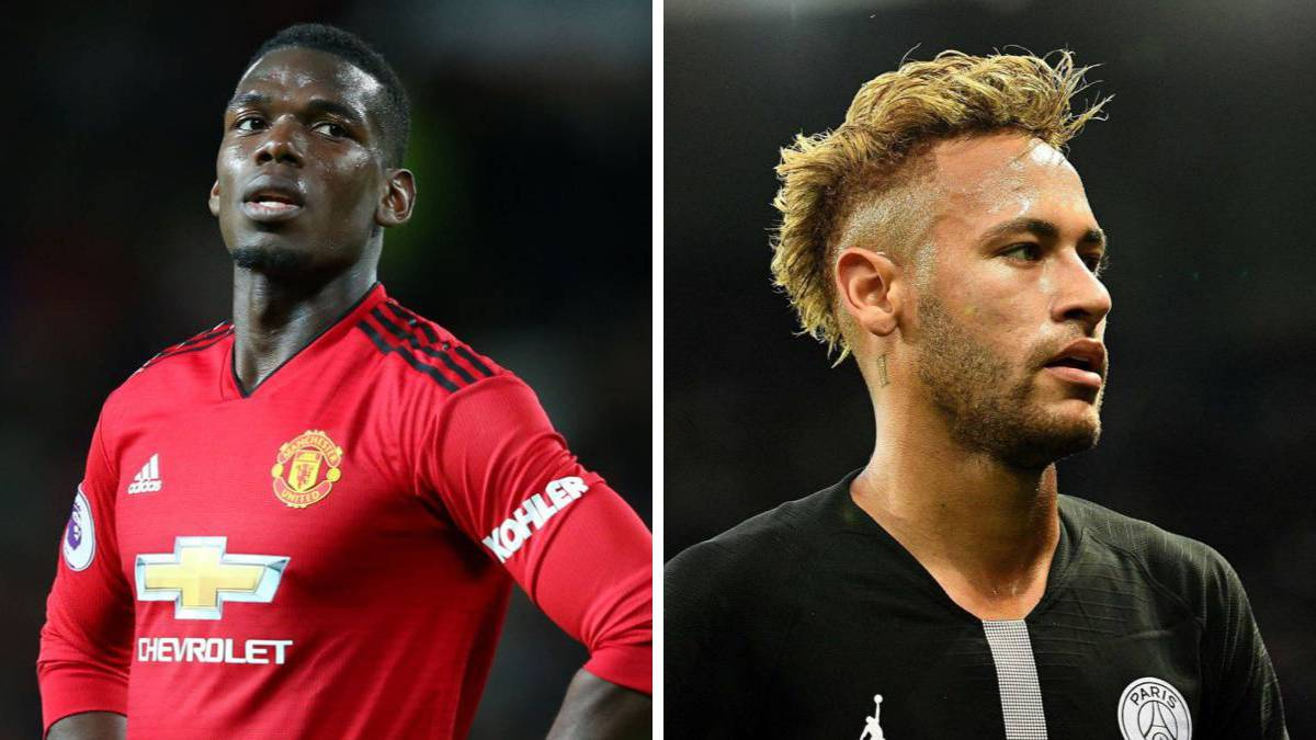 Man Utd's response to PSG's Neymar for Paul Pogba player exchange transfer suggestion - Bóng Đá