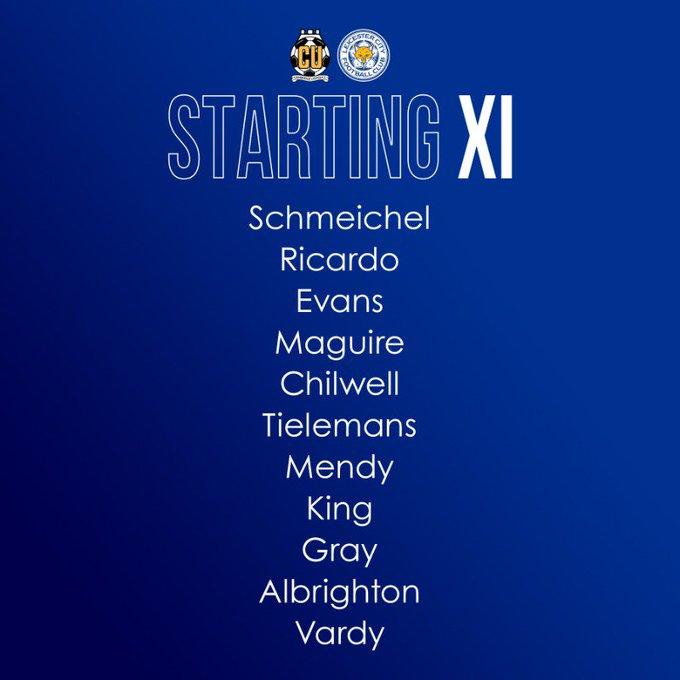 Maguire starts for Leicester again - Bóng Đá