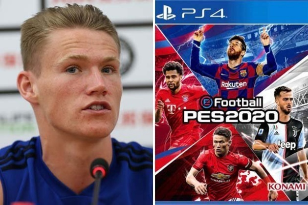 Man Utd fans bewildered as Scott McTominay appears on PES 2020 cover with Lionel Messi - Bóng Đá