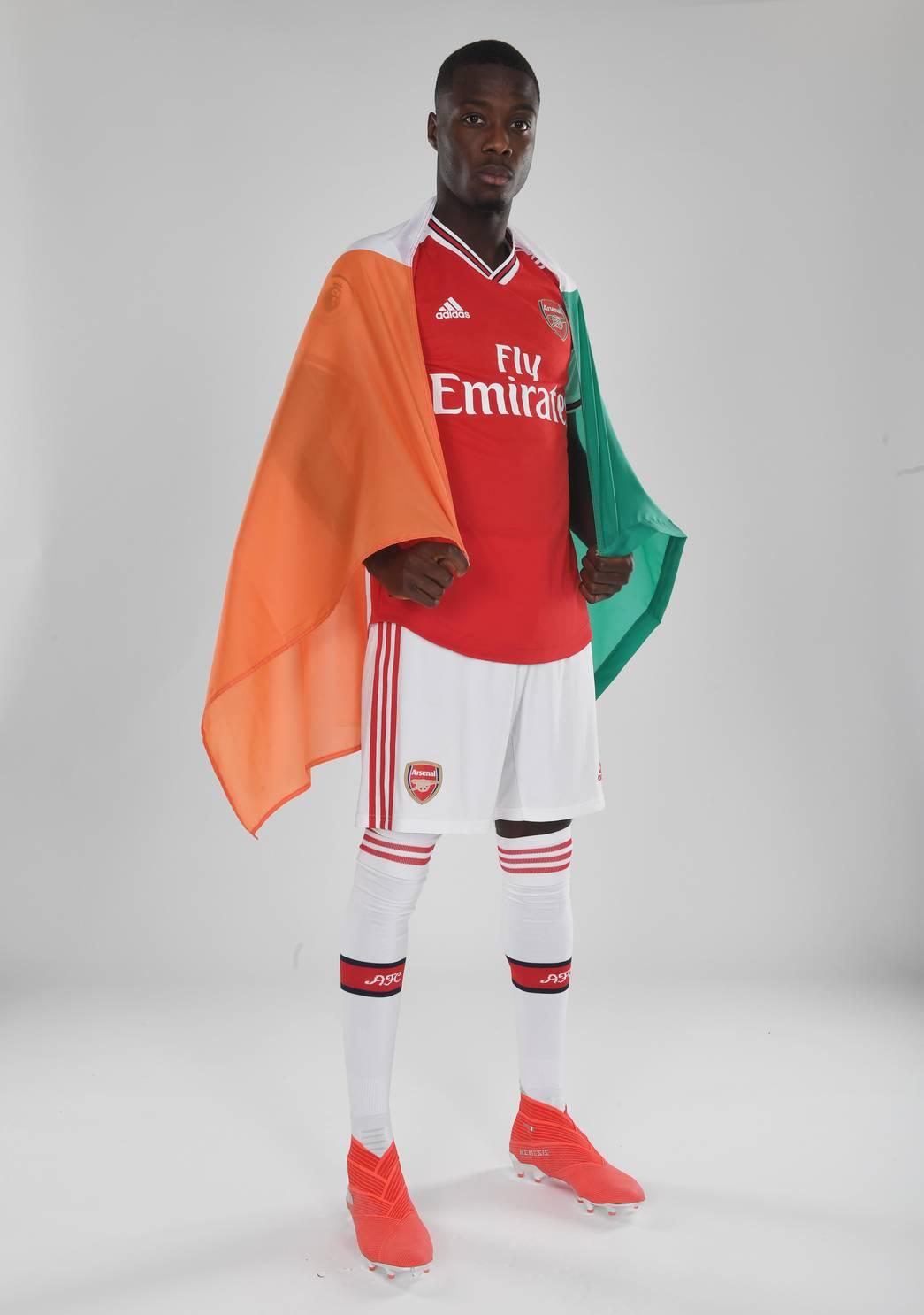 Ảnh Pepe ra mắt Arsenal - Bóng Đá