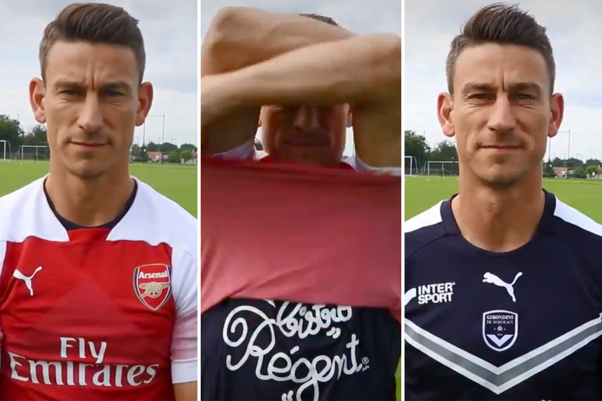 Laurent Koscielny branded 'disgusting' for 'disrespectful' Bordeaux unveiling in which he gets rid of Arsenal shirt he wore for nine years - Bóng Đá