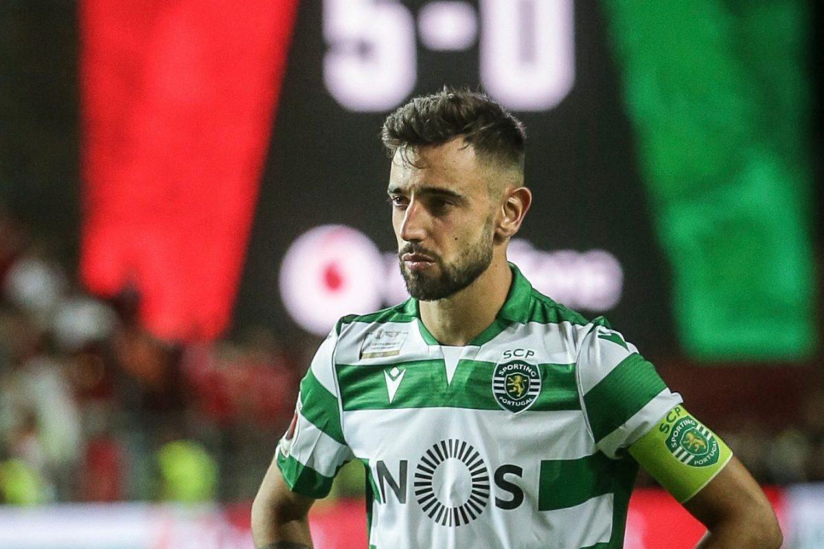 Bruno Fernandes deletes Sporting Lisbon information on Instagram - Bóng Đá