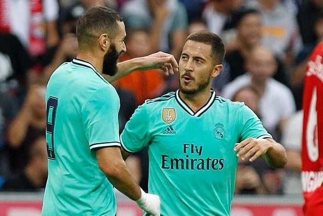 CHÍNH THỨC! Real Madrid trao số áo mới cho Eden Hazard - Bóng Đá
