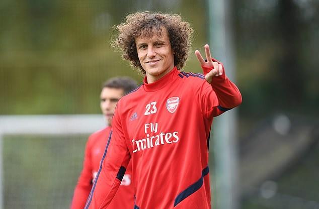 Ảnh David Luiz tập luyện - Bóng Đá