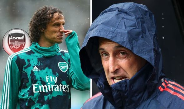 Arsenal boss Unai Emery reveals why David Luiz didn't play at Newcastle after Chelsea move - Bóng Đá