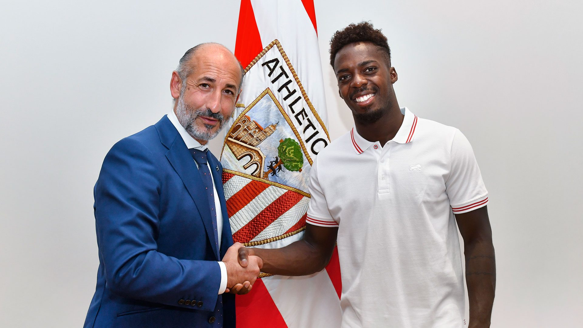 Inaki Williams has signed a new NINE-year contract with Athletic Club - Bóng Đá