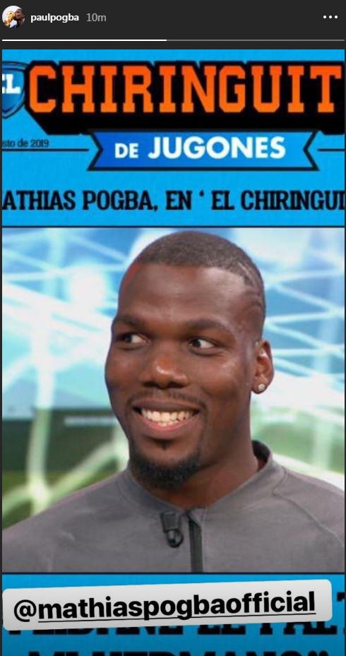 Paul Pogba posts cryptic response to his brother's Real Madrid comments - Bóng Đá