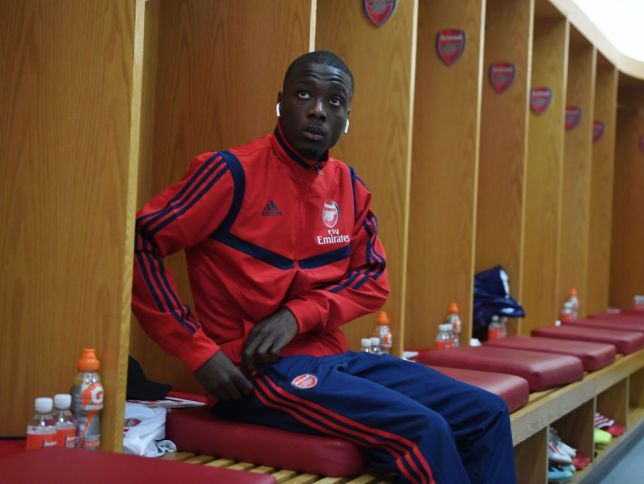 Unai Emery explains why he benched Nicolas Pepe again for Arsenal's clash with Burnley - Bóng Đá