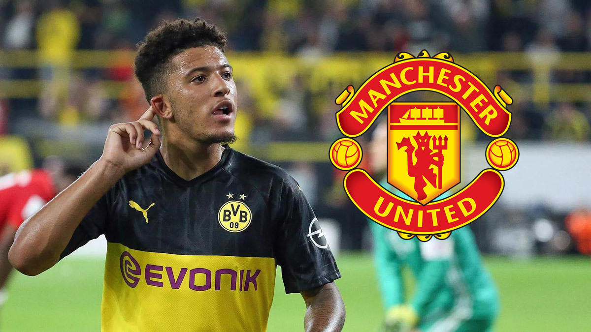 Jadon Sancho to leave Borussia Dortmund next summer with rivals Manchester United and City at the front of the queue - Bóng Đá