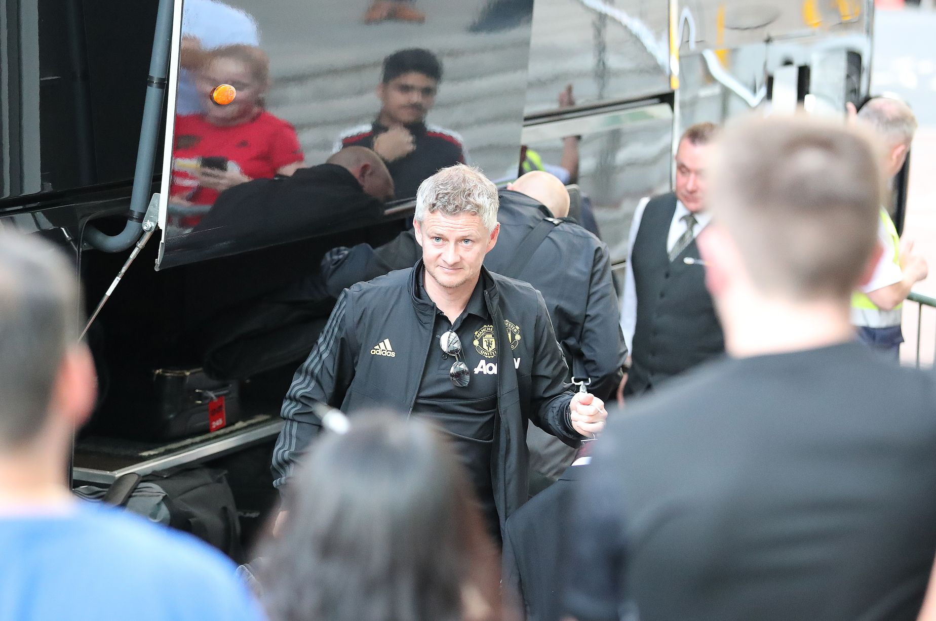 Ảnh Man Utd đến khách sạn Lowry - Bóng Đá