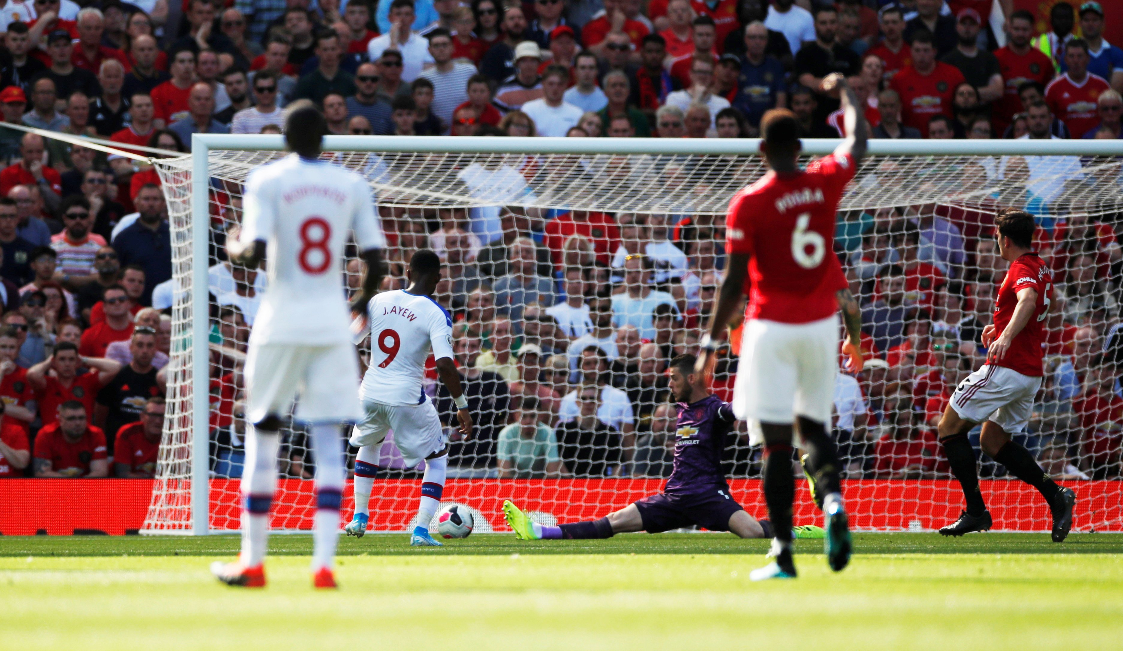 Man Utd had never lost to Crystal Palace in the Premier League before. - Bóng Đá