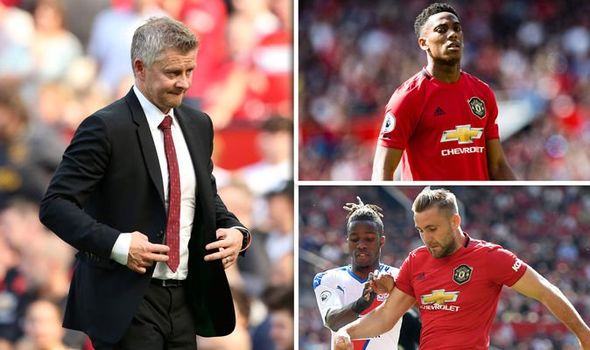 Man Utd boss Solskjaer gives injury update on Martial and Shaw after Crystal Palace loss - Bóng Đá