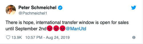 Manchester United legend Schmeichel sends brutal transfer message to the club after Crystal Palace defeat - Bóng Đá