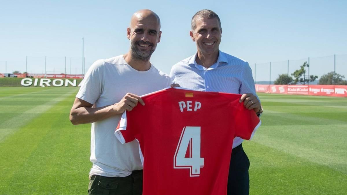 Pep Guardiola signs for Girona - Bóng Đá