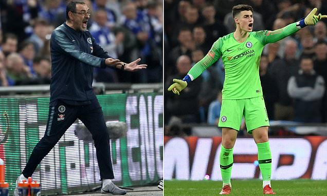 'I lived in a storm that week': Kepa Arrizabalaga admits he is not proud of when REFUSE to be substituted - Bóng Đá