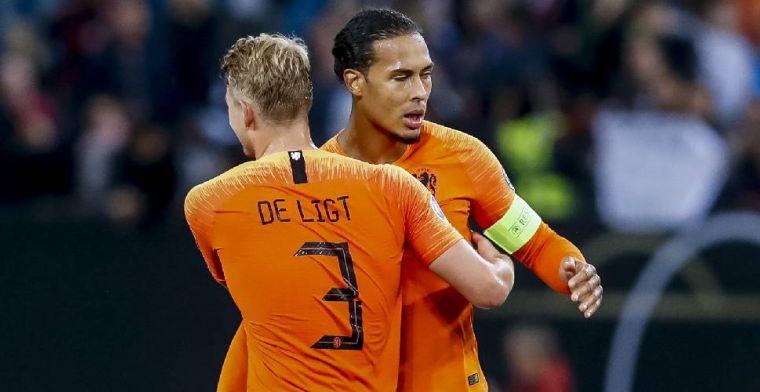 Hà Lan hạ Đức, De Ligt vẫn mắc lỗi ngớ ngẩn - Bóng Đá