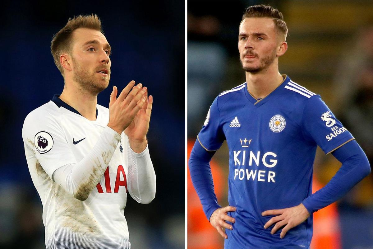 Manchester United boss Ole Gunnar Solskjaer favours move for James Maddison over Christian Eriksen - Bóng Đá