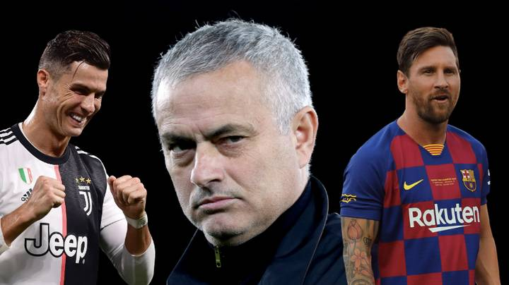 José Mourinho Ends The Cristiano Ronaldo-Lionel Messi Debate Once And For All - Bóng Đá