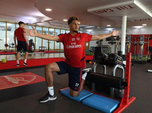 Why William Saliba is back at Arsenal's training ground - Bóng Đá