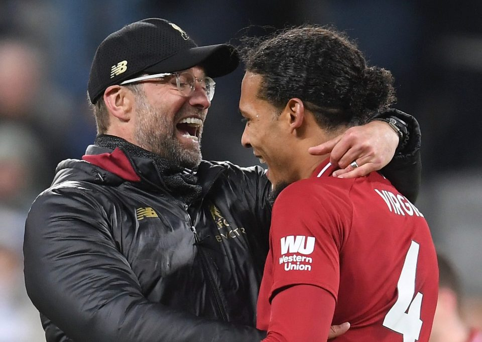 Liverpool's Jurgen Klopp and Virgil van Dijk are targets for both Real Madrid and Barcelona - Bóng Đá