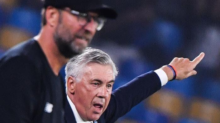 Carlo Ancelotti reveals what he told Jurgen Klopp after Liverpool's Champions League defeat to Napoli - Bóng Đá