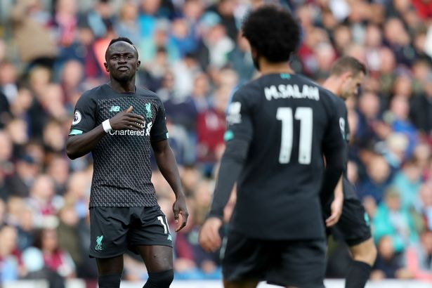 Sadio Mane's frustration with Mohamed Salah