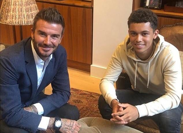David Beckham 'sets up elite football agency with Manchester United starlet Mason Greenwood a top target' - Bóng Đá