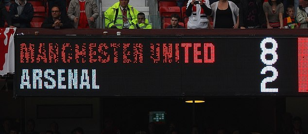'We lost 8-2 to United but nobody talked about it