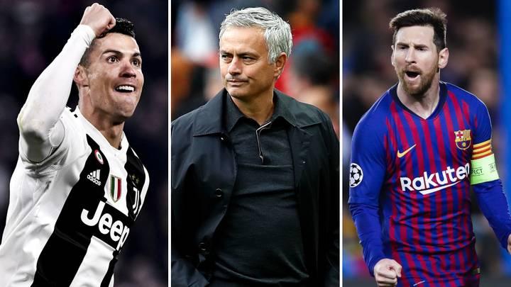Jose Mourinho names Ronaldo Nazario as the G.O.A.T ahead of Lionel Messi and Cristiano Ronaldo - Bóng Đá