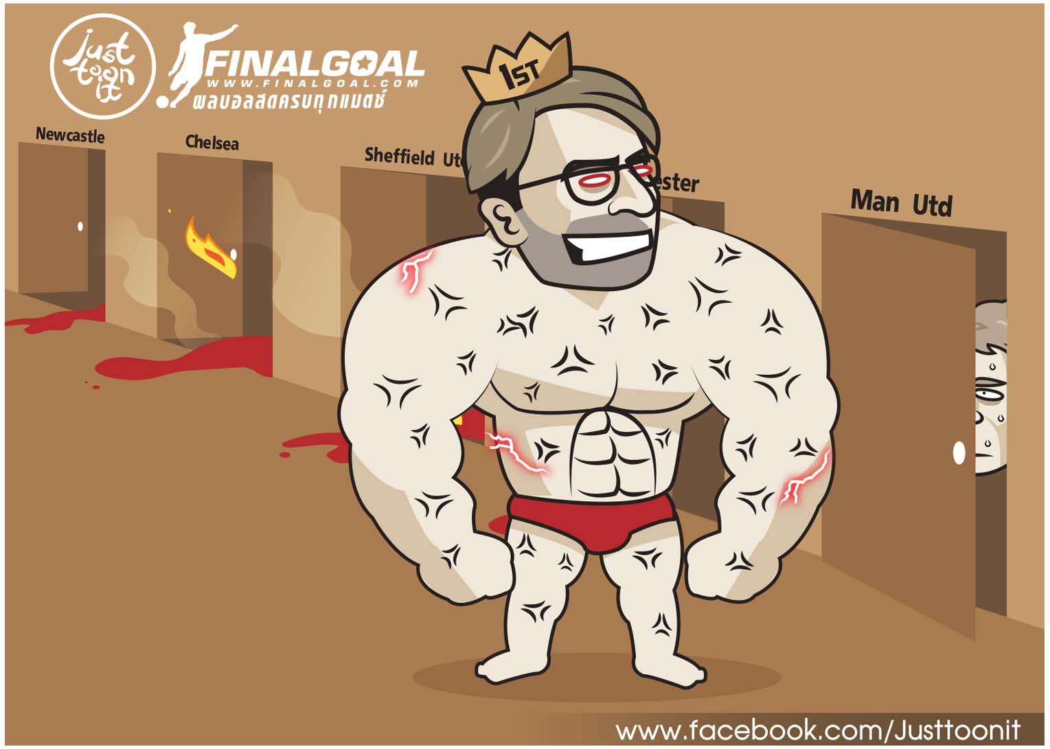 Cười vỡ bụng với loạt ảnh chế trước trận Man Utd - Liverpool - Bóng Đá