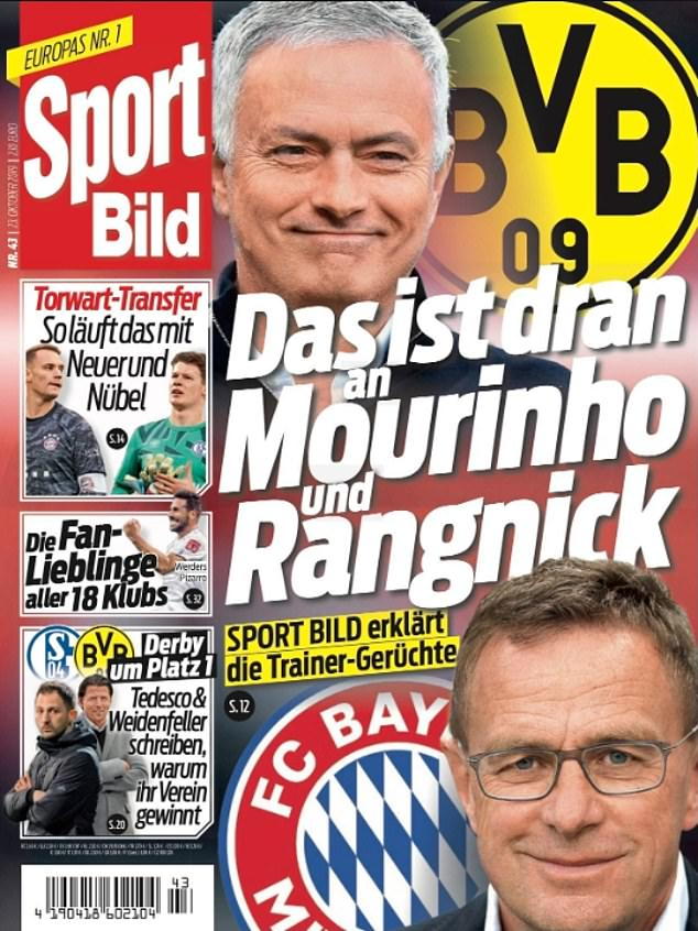 Borussia Dortmund are 'in regular contact with Jose Mourinho' and are trying to convince him to take over as manager - Bóng Đá