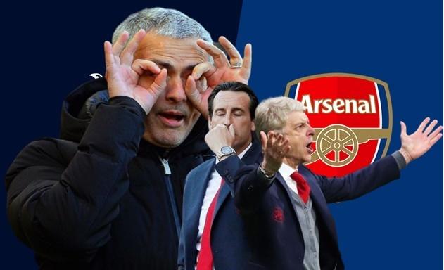 Quá rõ lý do Mourinho từ chối Arsenal để tới Tottenham - Bóng Đá