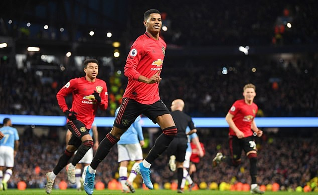 Marcus Rashford has more goals than Cristiano Ronaldo scored at Manchester United – and converts TWICE as many chances as the Portuguese superstar managed - Bóng Đá
