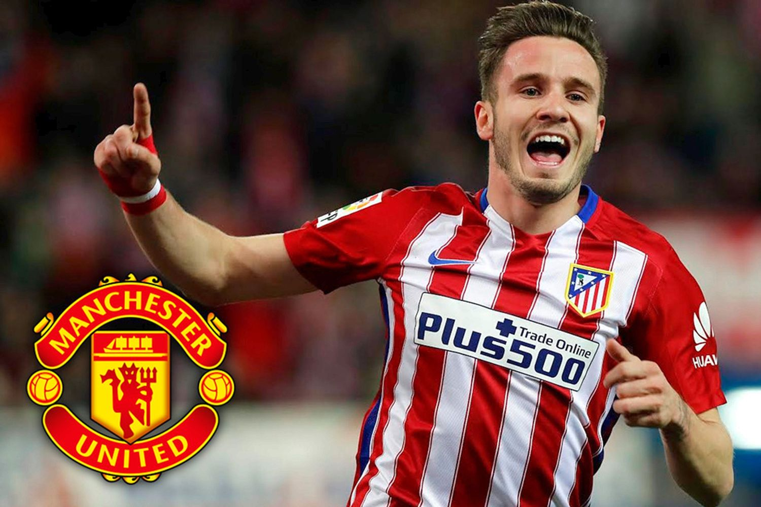 Man Utd can sign Atletico Madrid star Saul Niguez for cheaper than £126m transfer clause - Bóng Đá
