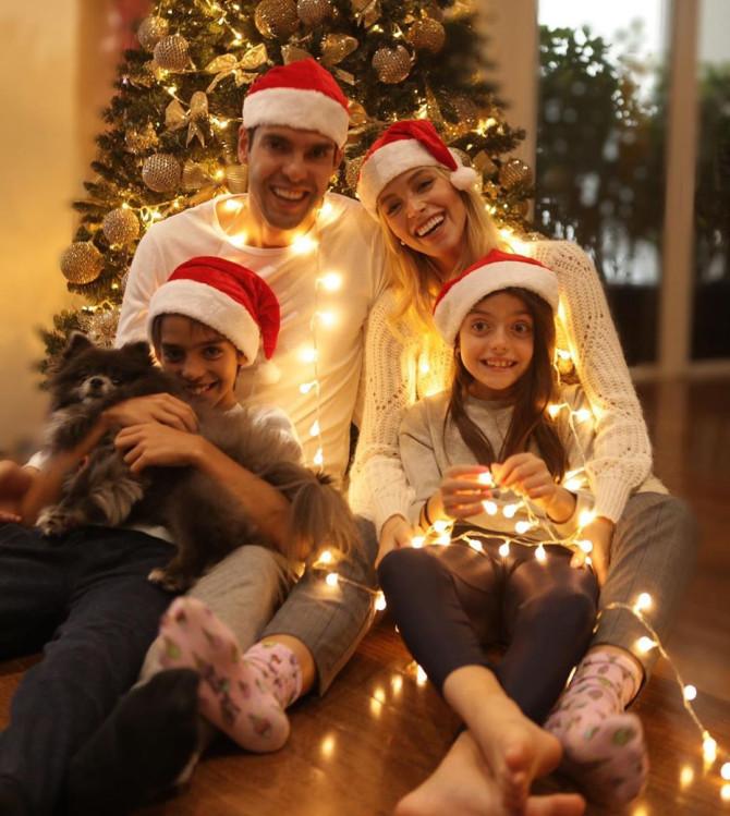Chùm ảnh các ngôi sao thế giới đón Giáng sinh - Bóng Đá